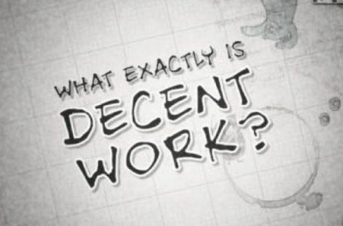 Dostojno delo in dostojno življenje?