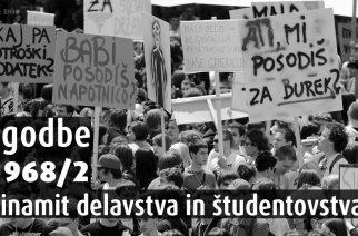 O dinamitu delavstva in študentov
