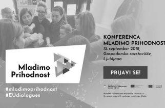 Vabimo: na konferenco Mladimo prihodnost!