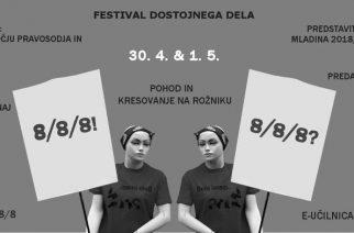 Festival dostojnega dela Sindikata Mladi plus: 15. 4. – 2. 5.