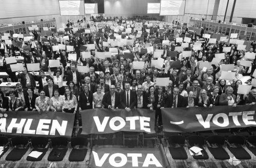 Za pravičnejšo, demokratično in bolj solidarno Evropo!