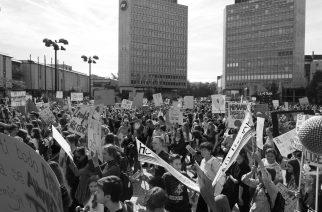 """""""Kapital izkorišča vse"""": Sindikalni poudarek s podnebnega štrajka"""