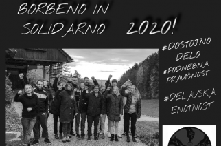 Borbeno in solidarno 2020!