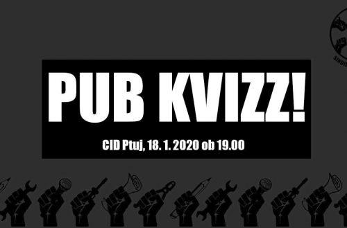 Sindikat Mladi plus predstavlja: Sindikalni pub kviz na Ptuju!