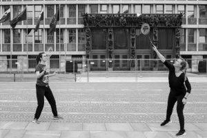 Badminton, igra na meji »zločina«