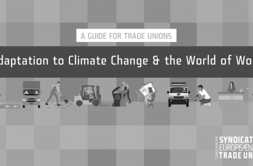 Podnebne spremembe in svet dela