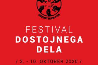 Napovedujemo nov Festival dostojnega dela! Prihaja ves teden sindikalnih in delavskih vsebin
