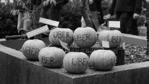 Z novinarske konference: Stop Uberju, stop izkoriščanju!