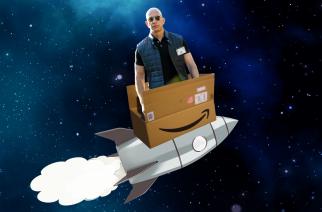 Nehvaležni skeptiki #24: Milijarderji v vesolju ali vsa počasna jutra Jeffa Bezosa
