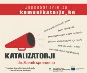 Katalizatorji spet v Ormožu in Novi Gorici!