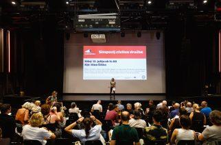 Poročilo iz Kina Šiška: Simpozij civilne družbe uspel